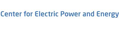 Logotype for Center for Electric Power and Energy