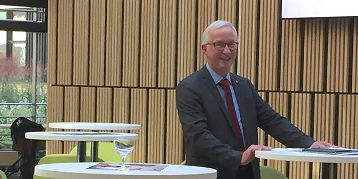 Esben Larsen 40 years at DTU