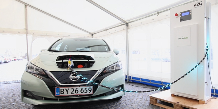 Parker Project demonstrates that Electric vehicles are able to performe grid services via V2G technology at VGI summit at DTU Risø